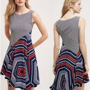 Anthropologie Maeve Cameron Swing Dress Size Small
